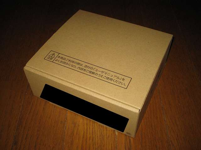 GE-PON<FA>E GE-PON-ONU TYPE D<1>2 光回線終端装置 梱包パッケージ