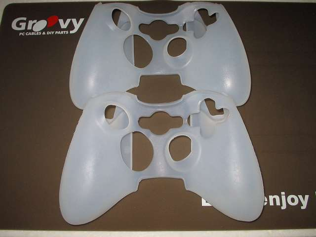 TitoSoy Xbox 360 シリコンコントローラーカバー ホワイト 2個購入