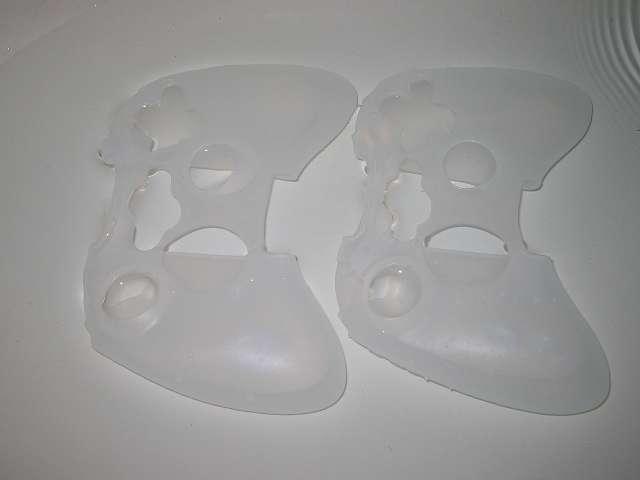 TitoSoy Xbox 360 シリコンコントローラーカバー ホワイト 装着前の水洗い