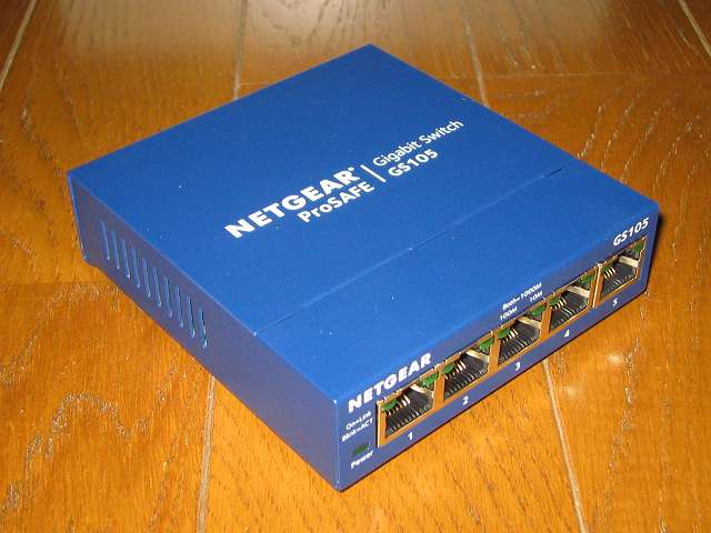 NETGEAR GS105-500JPS(GS105v5) 製品本体