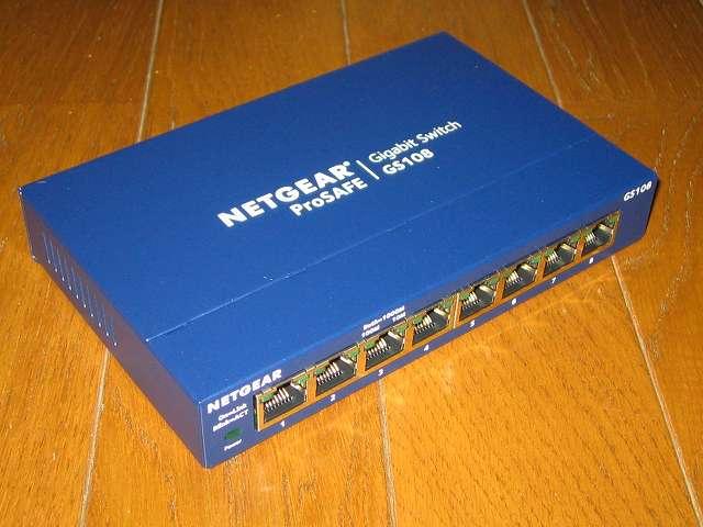 NETGEAR GS108-400JPS(GS108v4) 製品本体