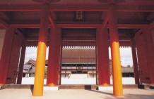 京都御所承明門紫宸殿