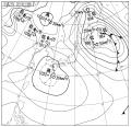 今日15:00の天気図