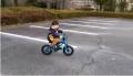 孫が自転車に乗れるようになりました。