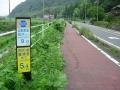 150712西の湖へ向かう自転車道