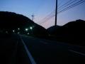150808夜明け前の大正池上り口
