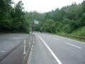 150808国道422桜峠を超えて伊賀へ