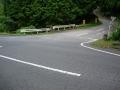 150808御斎峠〜多羅尾方面への分岐を右へ