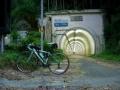 150815早朝の老ノ坂トンネル