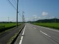 150815亀岡盆地のど真ん中を行く