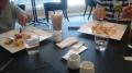 150720シティモベリーカフェで食事