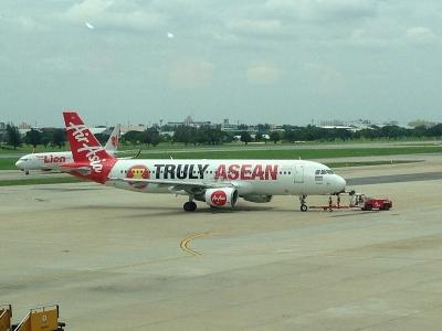 またまたエアアジアに搭乗