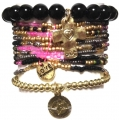 c001 multi colored coco bracelet set black (2)