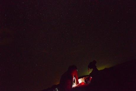 12天体観測