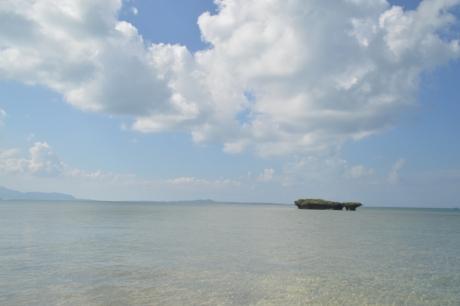 21黒島の空と海
