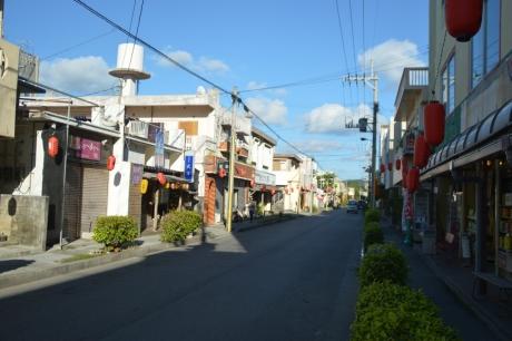 4島のメインストリート