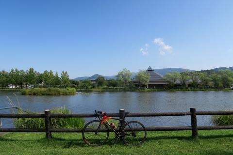 08軽井沢駅至近の池