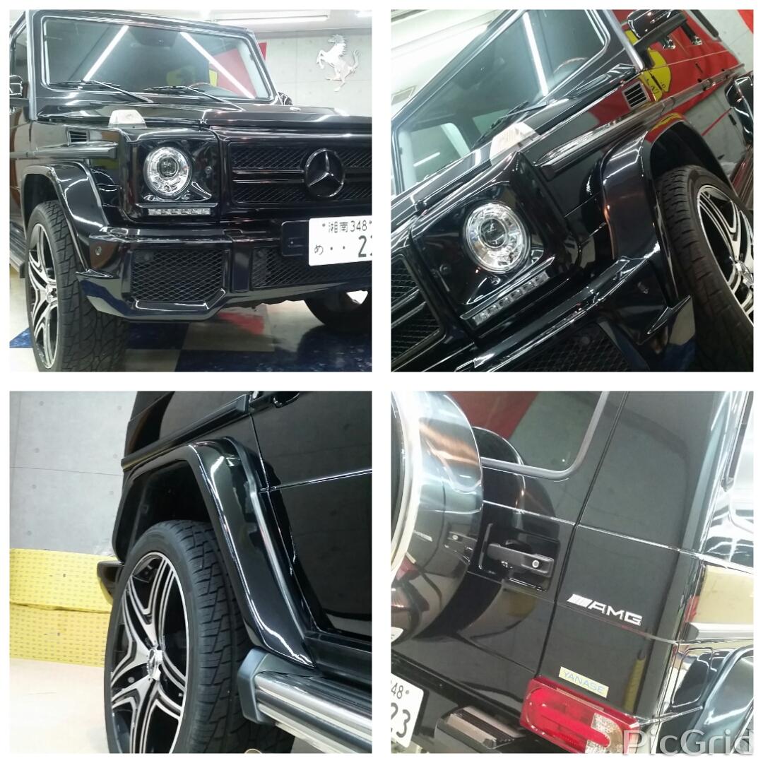 G63スタイリング黒 ブラックアウト