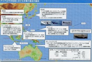 アジア太平洋地域の米軍の動向