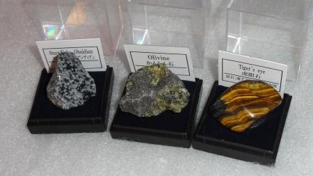 セリア「鉱物標本シリーズ」