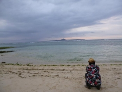 伊江島 城山(タッチュー)