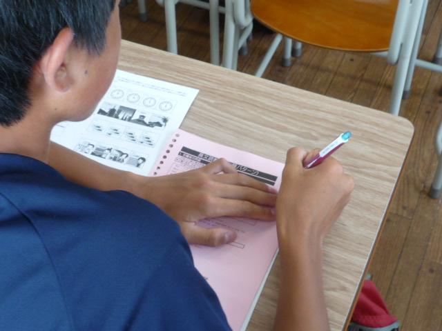 小学生と中3 夏期初日 (10)