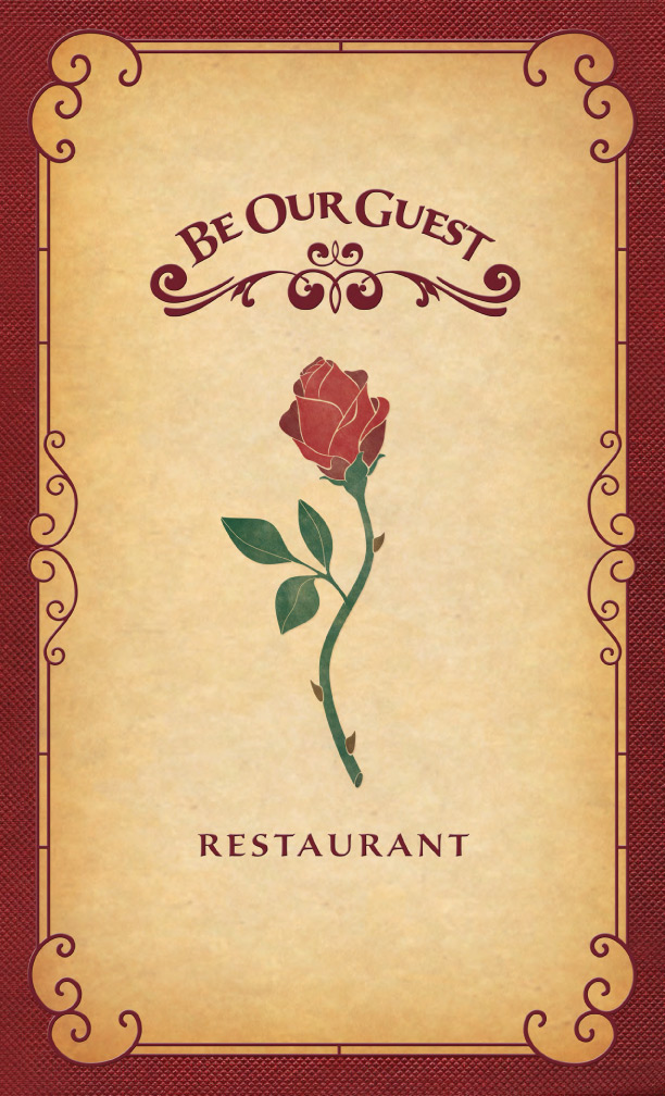 Be Our Guest Restaurant Menu 2