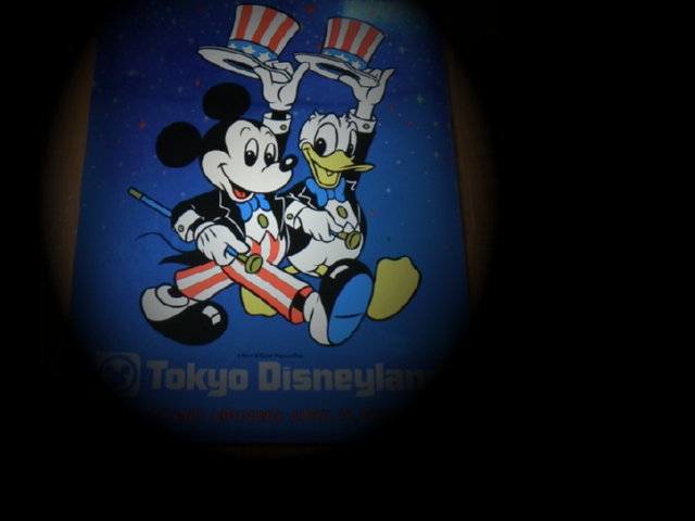 TDL GRAND OPENING Mickey&Donald