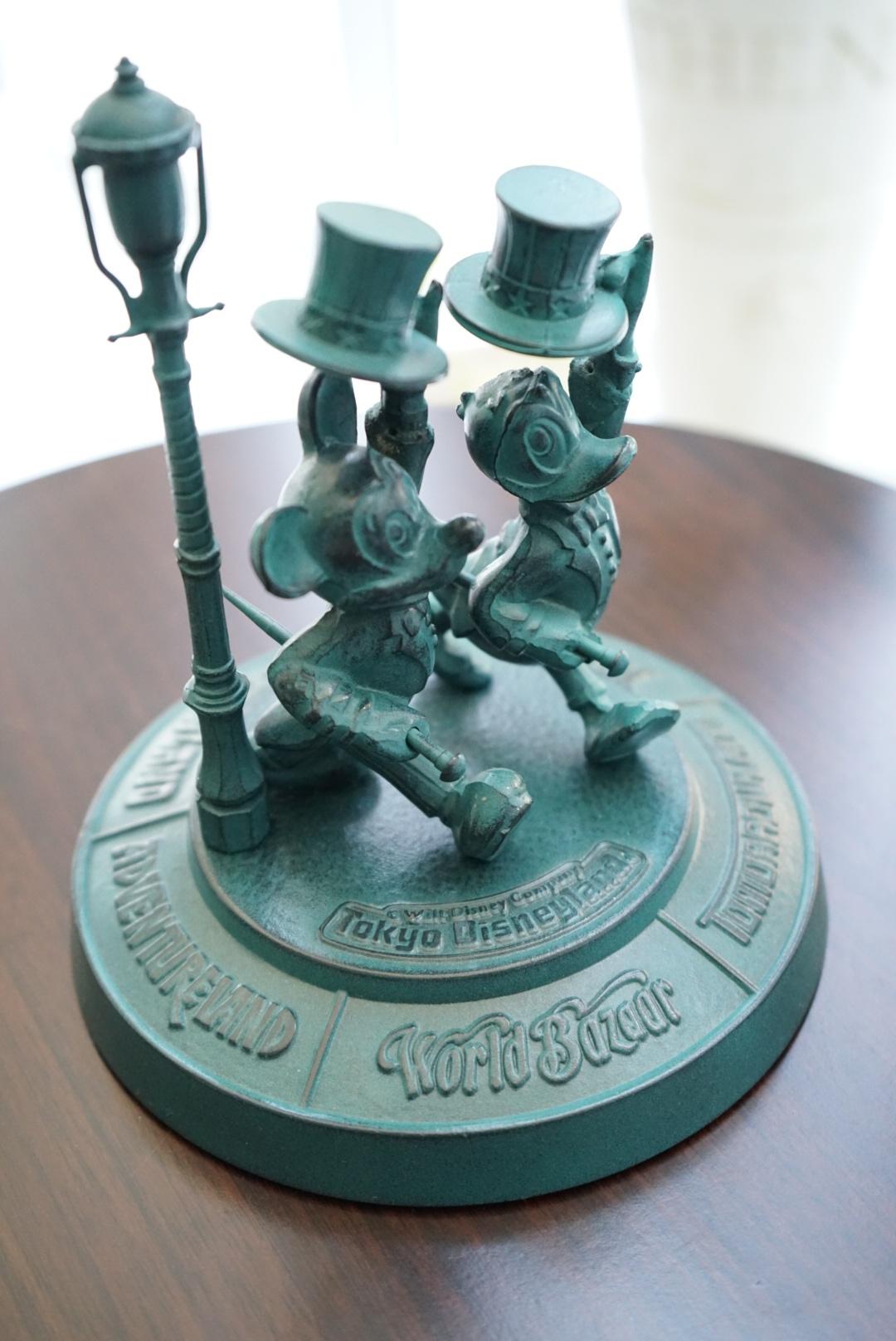 東京ディズニーランド 青銅ブロンズ像1