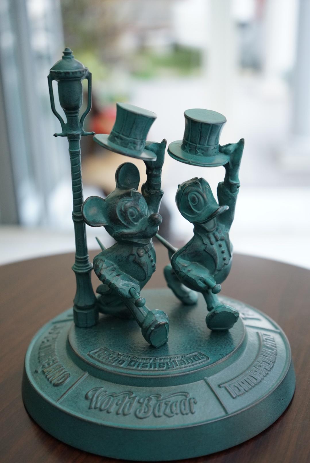 東京ディズニーランド 青銅ブロンズ像4