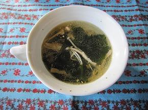 スピーディーわかめスープ