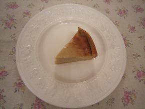 ベイクドチェーズケーキ