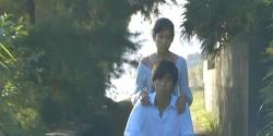また二人乗りしている杏子と界人