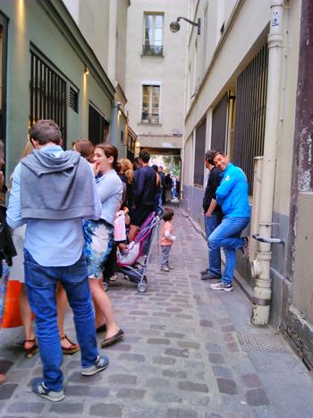 pizzeria queue