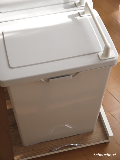 ゴミ箱キャスター 完成