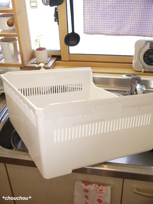 冷凍室 ケース 洗い