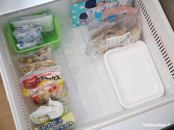冷凍室 下段