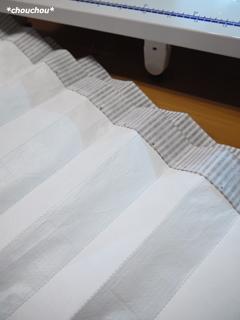 ビニコ ストライプ 直線縫い