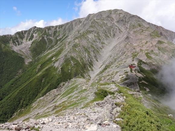 西農鳥岳から間ノ岳