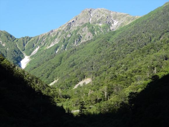 白根三山縦走 広河原から北岳