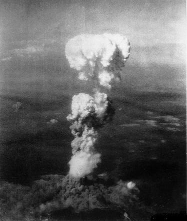 広島に原爆投下