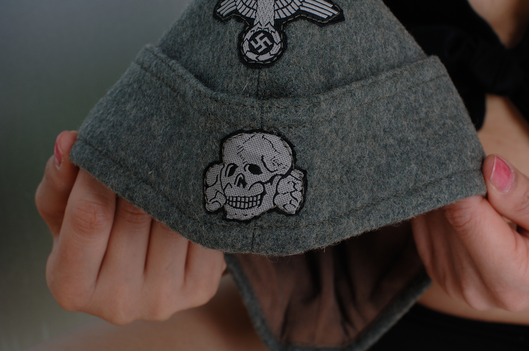 SS M40型略帽/帽章