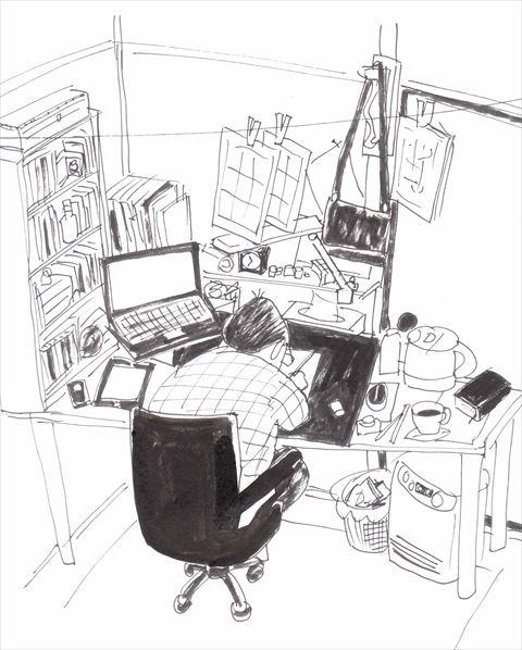 仕事机 - コピー