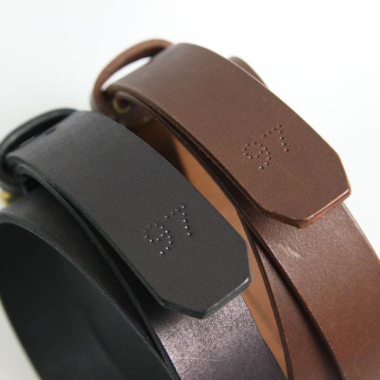 STYLE CRAFT(スタイルクラフト) ゴートヌメ革ベルト (M)