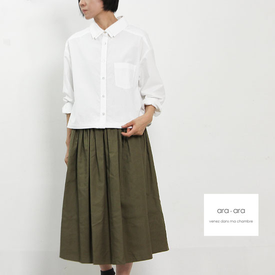 ara・ara(アラアラ) タイプライターボーイフレンドシャツ