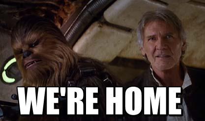 WERE HOME