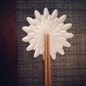 Paper flower * daisy chopsticks