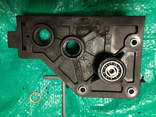 溶けたエンジンマウント-2