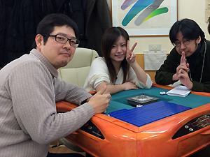 藤崎智プロと茅森早香プロ。