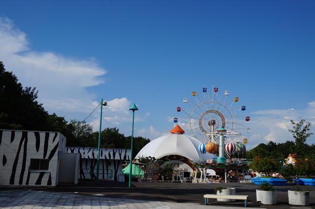 遊園地ゾーン